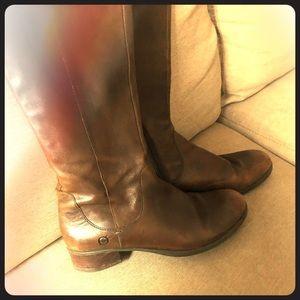 Tall leather Børn boots